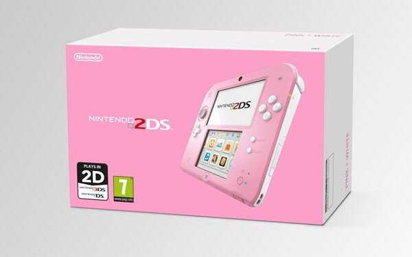 Pink 2 DS Kirby