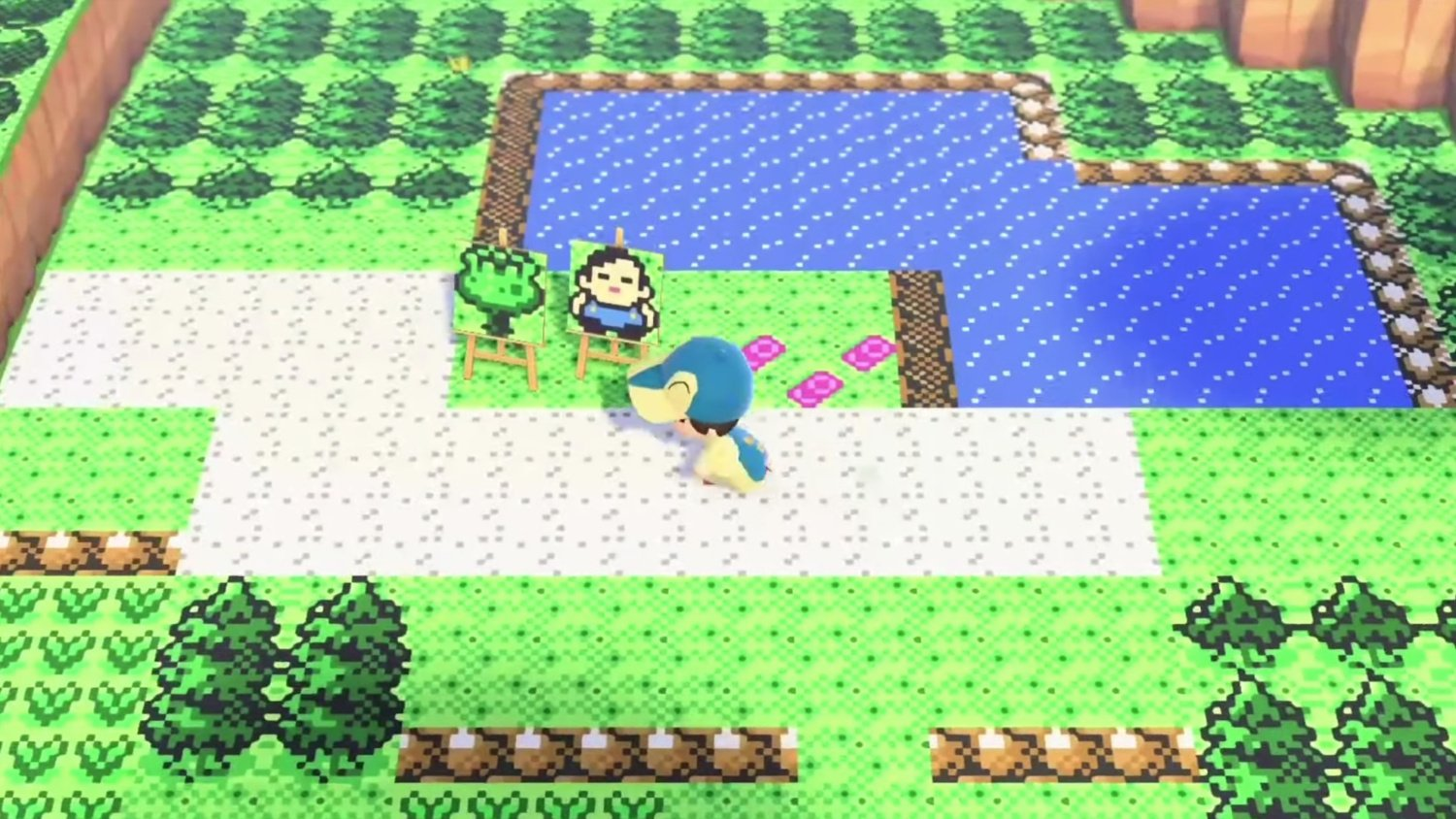 Random Pokemon Gold And Silver Recreated In Animal Crossing New Horizons Is Absolutely Mindblowing Nintendo Life