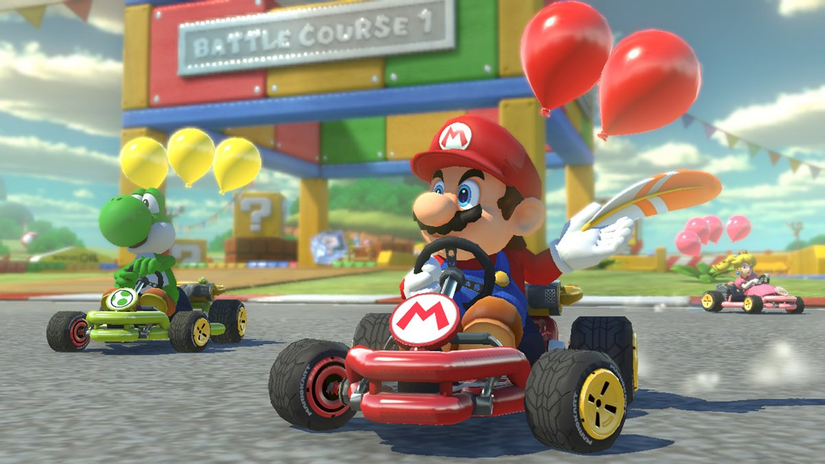 UK Charts: Mario Kart 8 Deluxe Still Leads The Way For Switch, The Division 2 Takes Top Spot