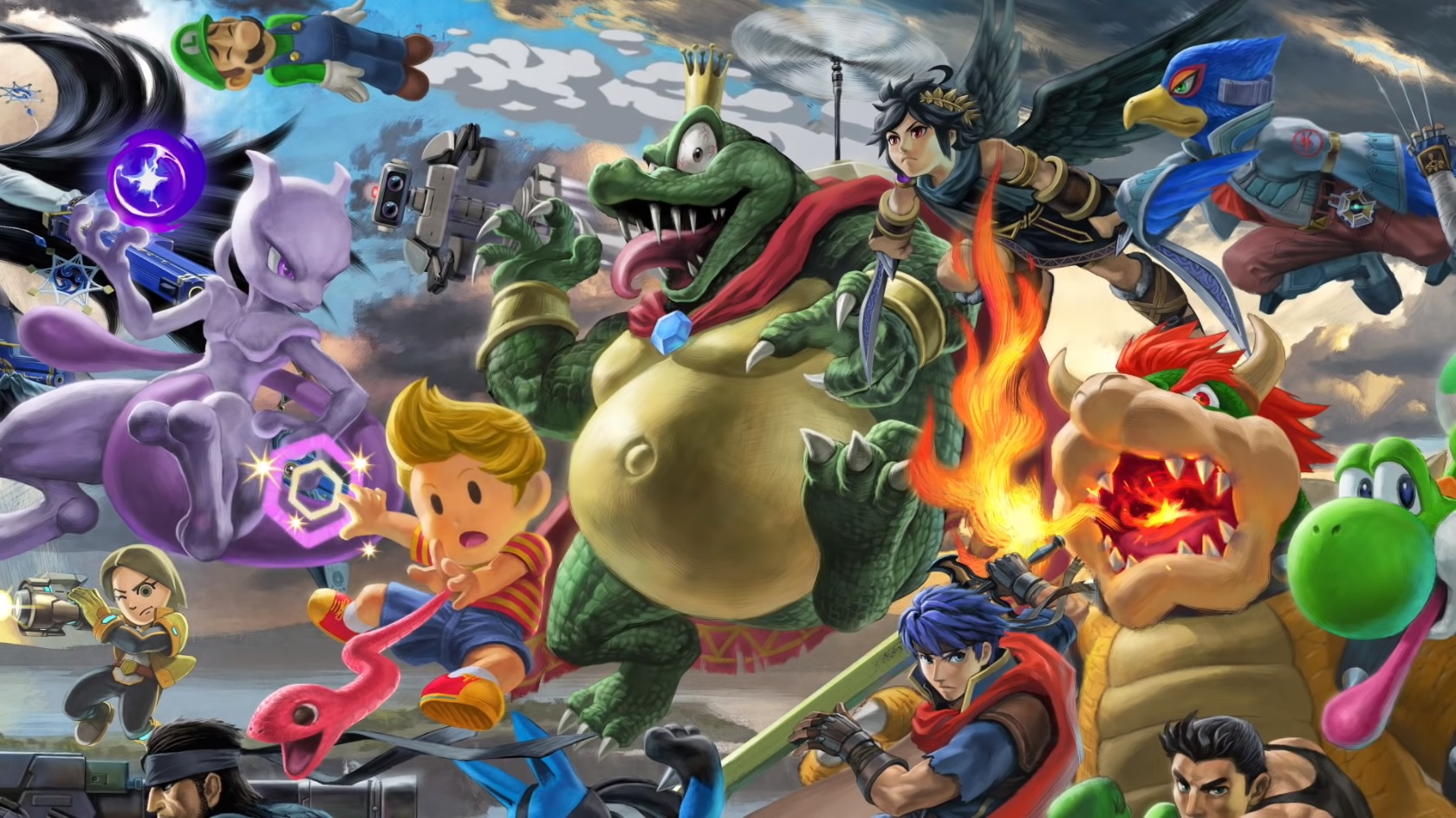 Rumour: DLC Fighter For Smash Bros  Ultimate Leaked On