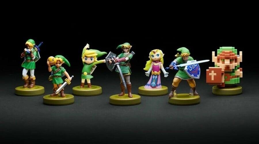 Zelda BotW Champions amiibo