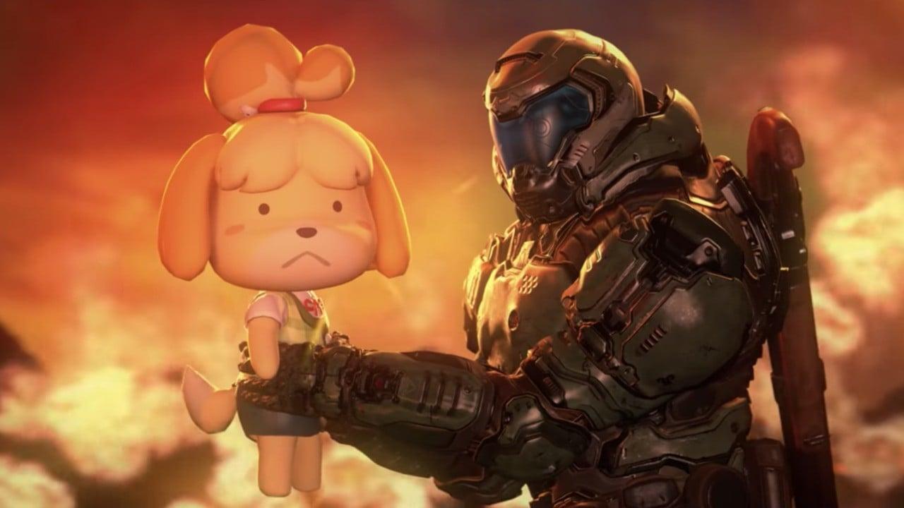 Aleatorio: mira a Isabelle y The Doom Slayer rasgar y rasgar en esta increíble animación hecha por fans 53