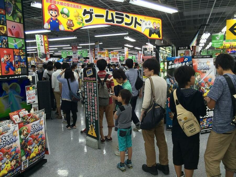 Gamers in Japan went potty for the 3DS in 2014
