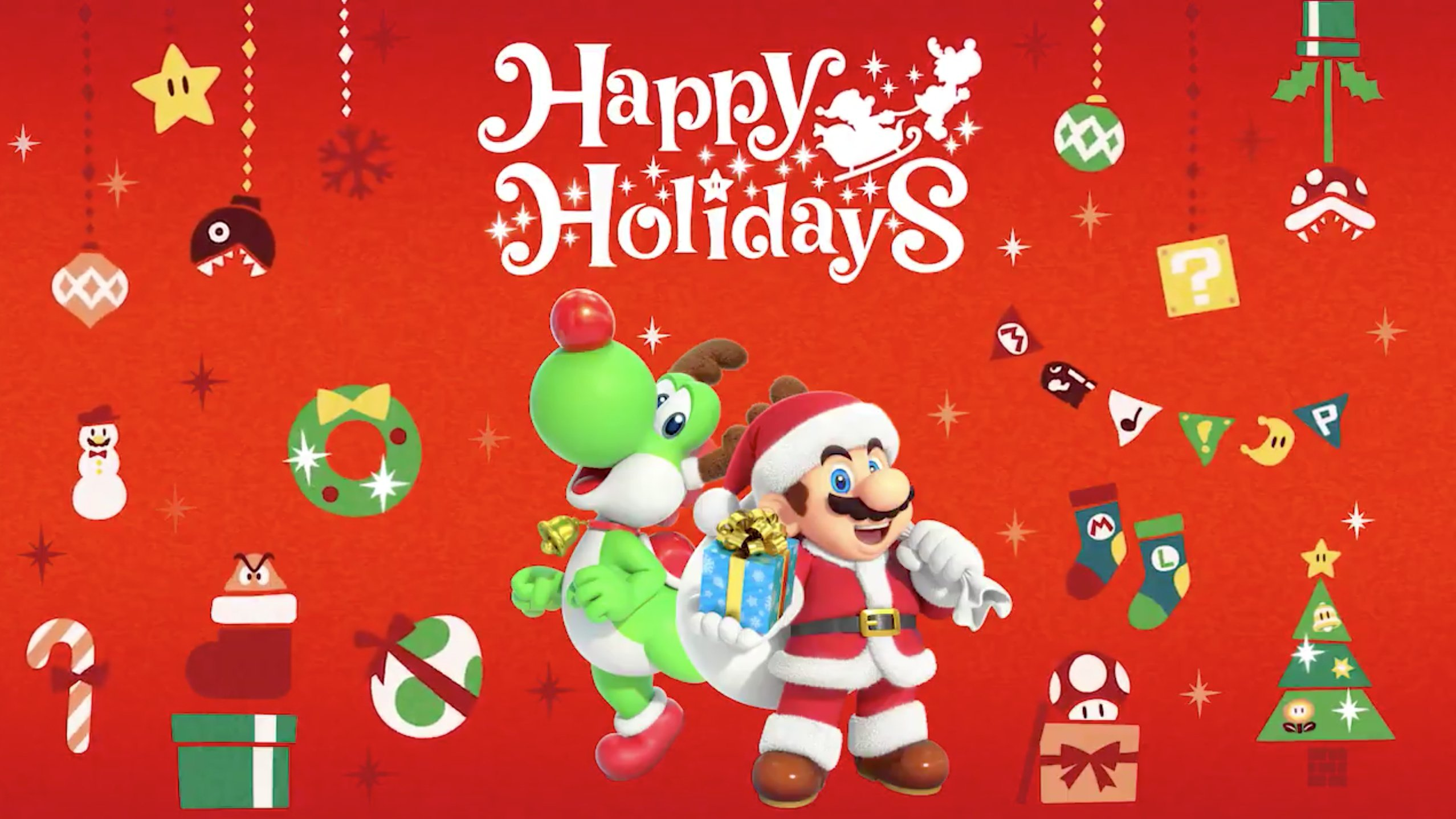 Happy Holidays Games
