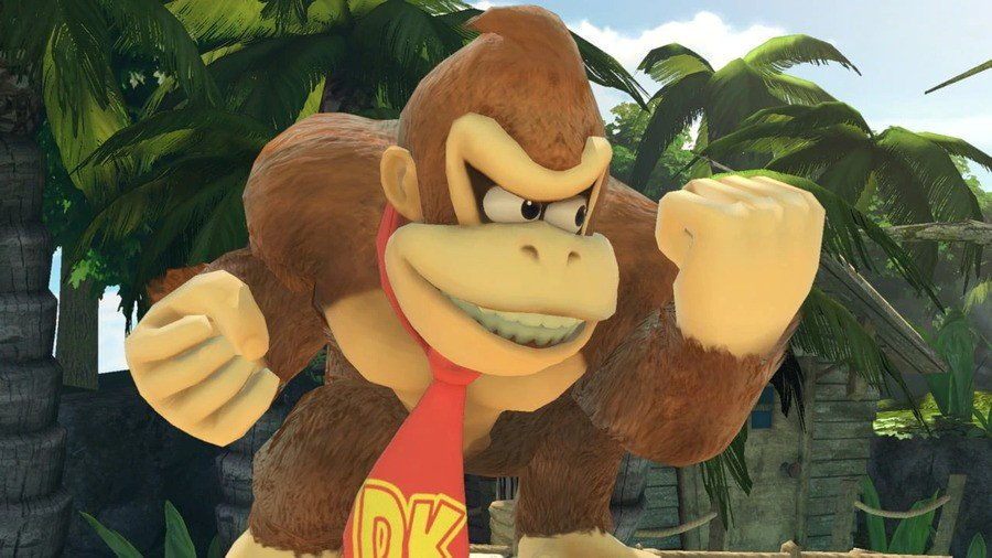 Donkey Kong as seen in Super Smash Bros. Ultimate