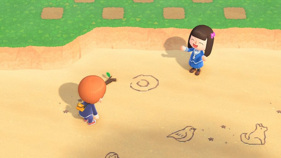 Animal Crossing X Fruits Basket