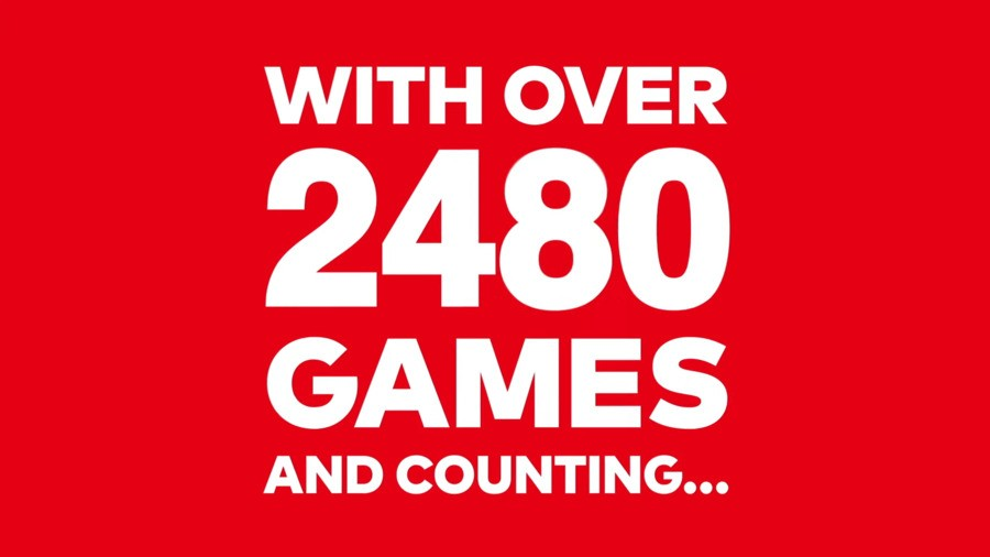 Nintendo Switch Game Count