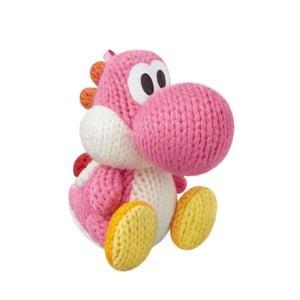 Pink Yarn Yoshi amiibo