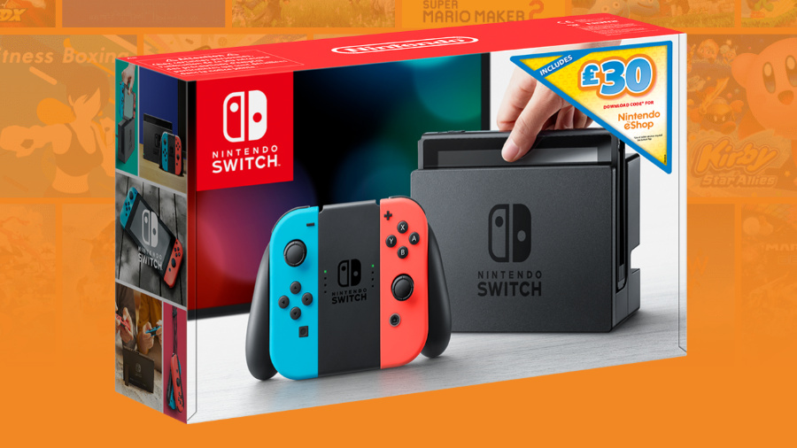 Deals Get 35 30 Eshop Credit With A New Nintendo Switch Europe Nintendo Life