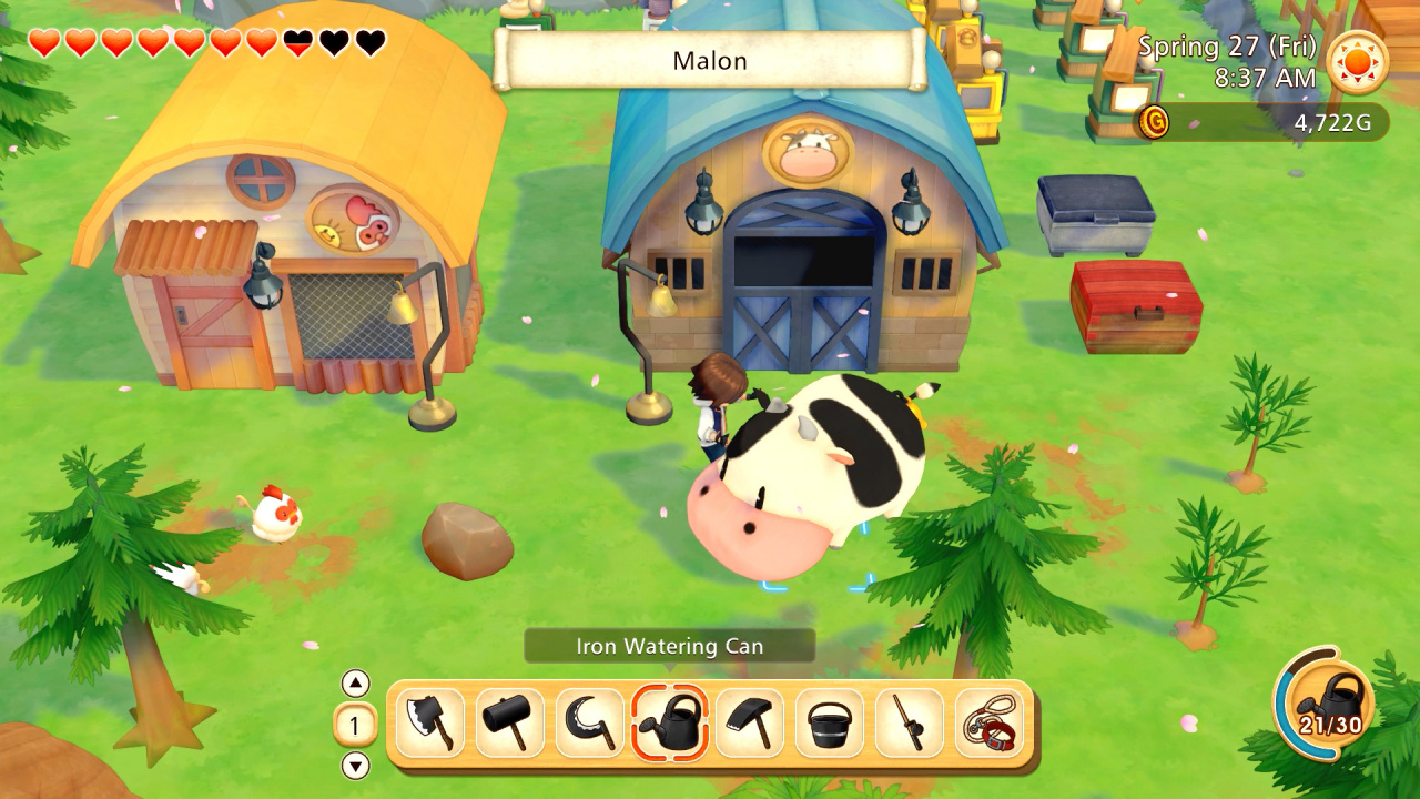 Video: Check Out 12 Minutes Of Story Of Seasons: Pioneers Of Olive Town Gameplay