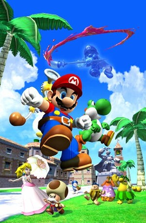 Mario Sunshine may not be everyone's favourite, but it had its moments