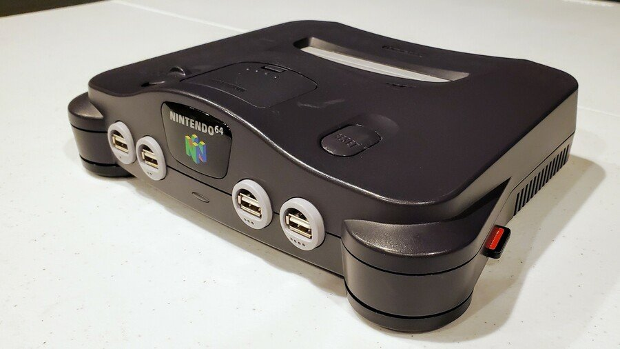 N64 with Switch cartridge reader