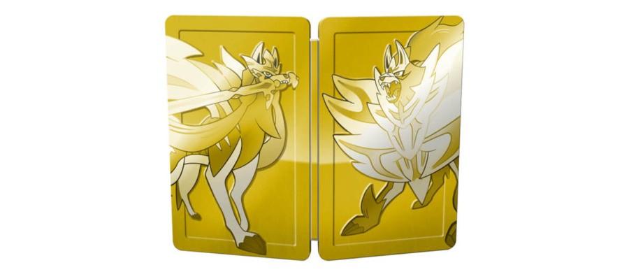 Pokémon Sword and Shield Steelbook