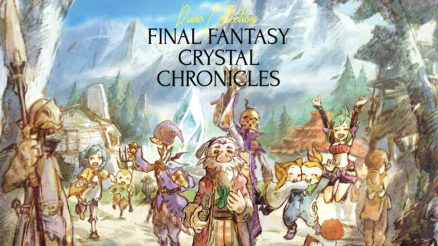 Final Fantasy Crystal Chronicles Piano Collection Album