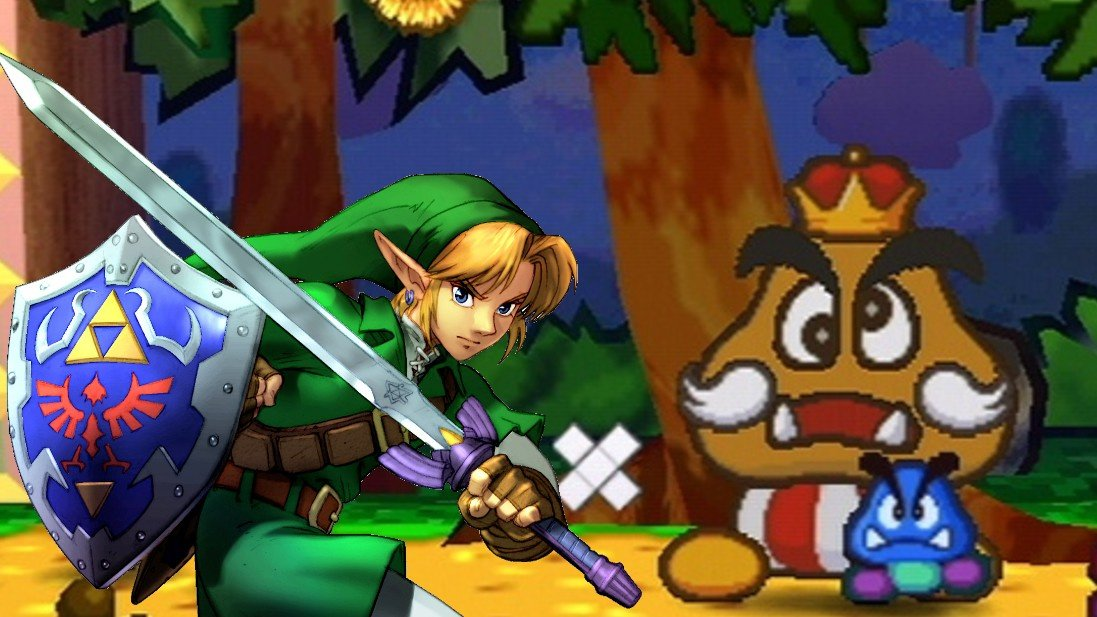 Random: The Fastest Way To Beat Paper Mario Is To Turn It Off And Play Zelda Instead