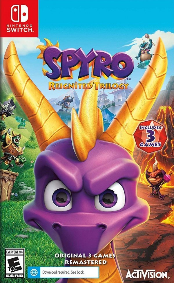 Spyro Reignited Trilogy Review (Switch) | Nintendo Life