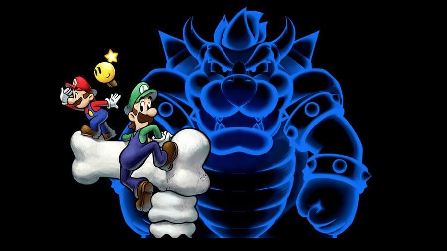 Mario Luigi Bowser