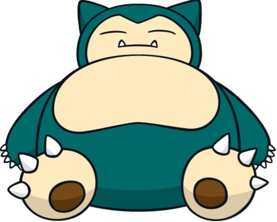 Snorlax is waiting for hearts to regenerate