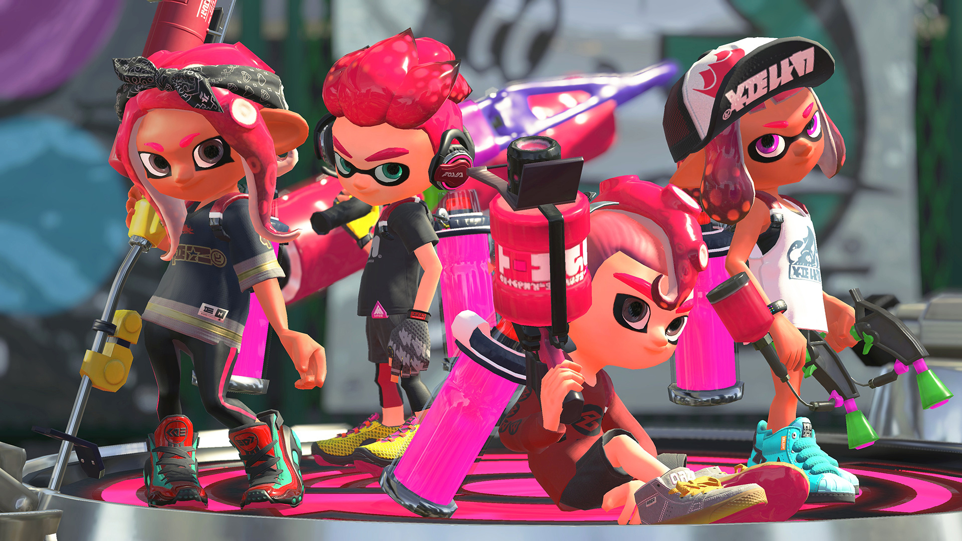 Interview Hisashi Nogami On Squids Kids And Splatoon 2 S Octo