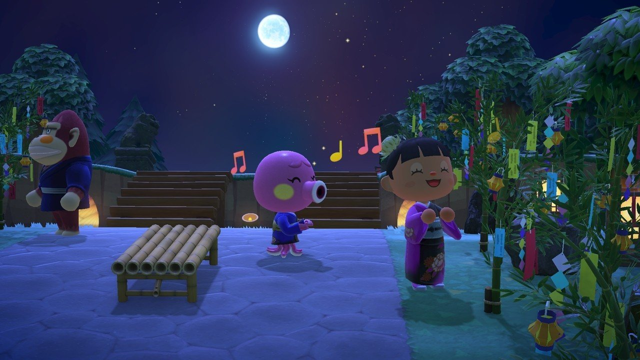 Animal Crossing: New Horizons Adds New Limited-Time Item To Celebrate Japan's Tanabata Festival