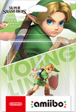 Young Link amiibo Pack