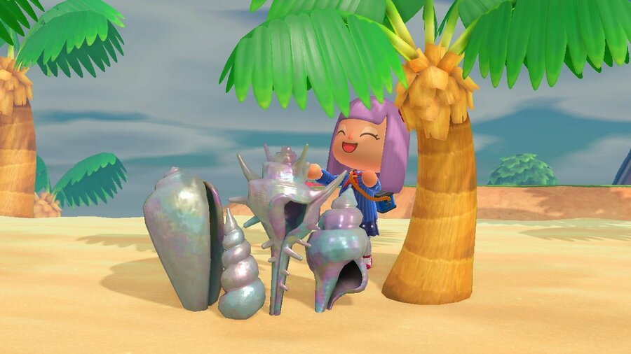 Shell ornament in Animal Crossing: New Horizons