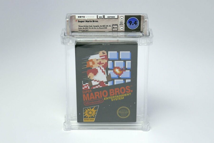 Super Mario Bros Sealed Edition