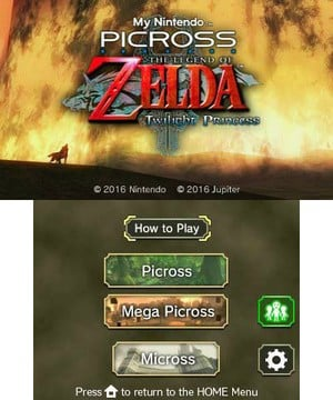 My Nintendo Picross: Twilight Princess