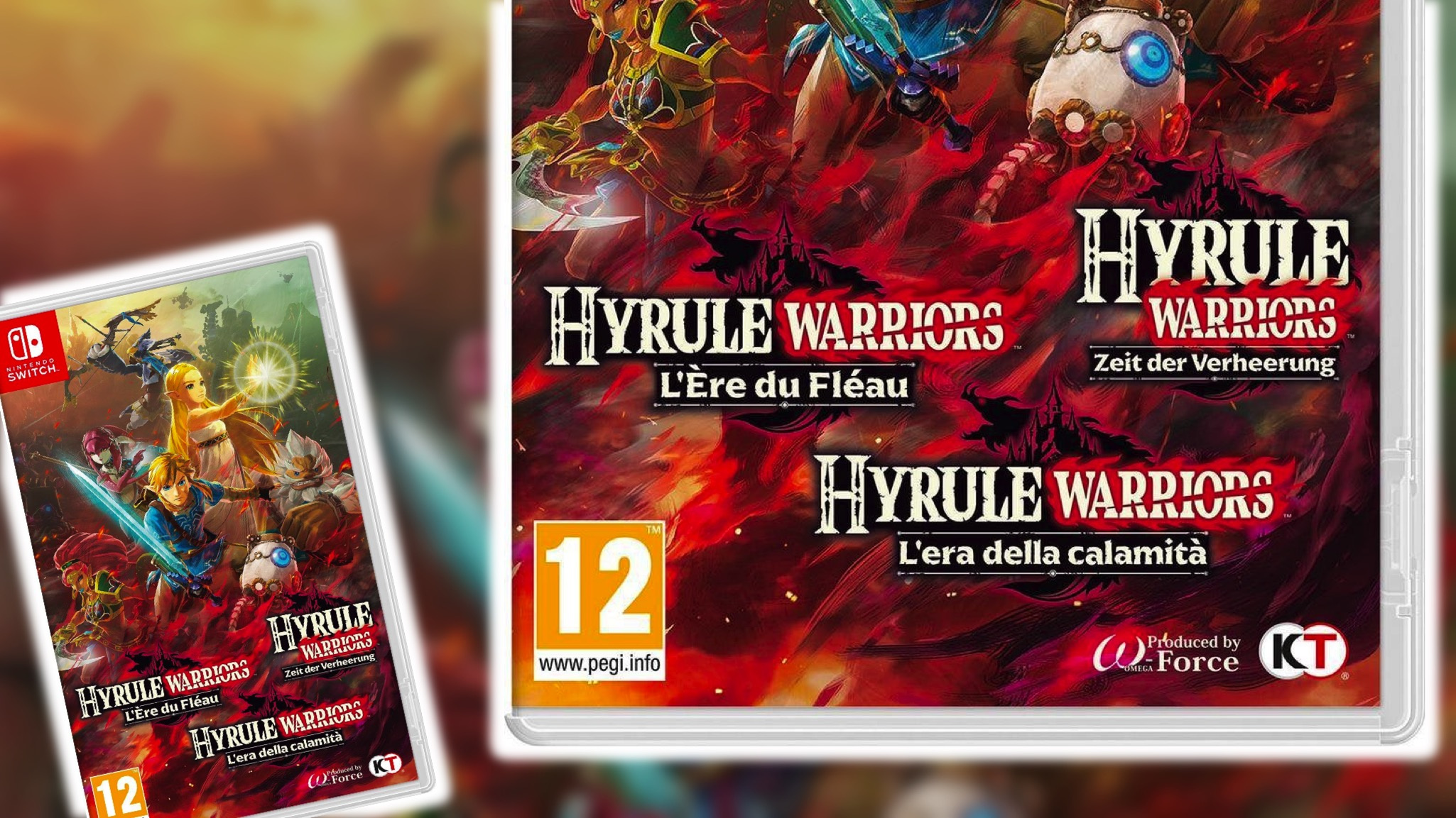 Random Some Hyrule Warriors Age Of Calamity Cases Have Gone A Bit Overboard Nintendo Life