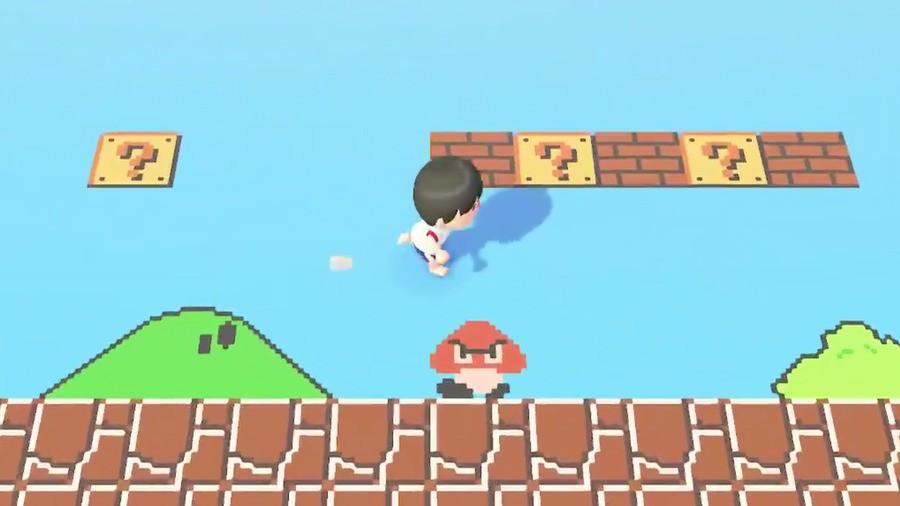 Animal Crossing Super Mario Bros 1-1