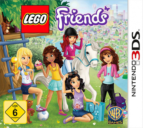 Lego Friends Review 3ds Nintendo Life