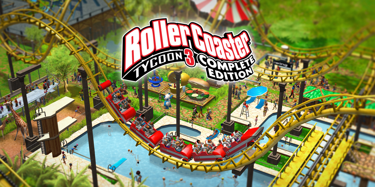 Review: RollerCoaster Tycoon 3: Complete Edition - A Ride That Switch Players Should Consider Jumping Aboard