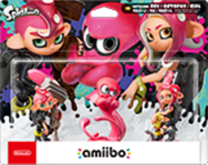 Octoling Octopus amiibo Pack
