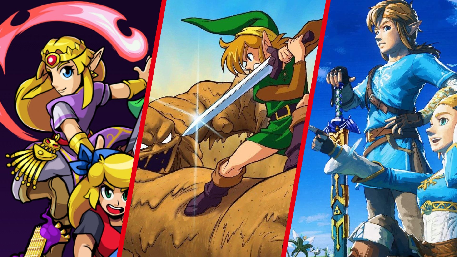Best Zelda Games Of All Time - Feature - Nintendo Life