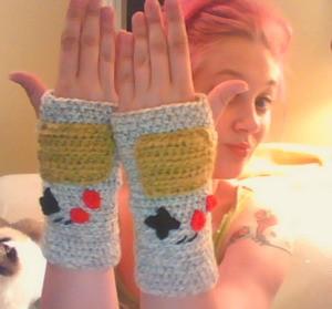 Next challenge: Power Glove gloves.