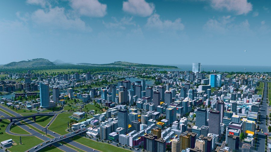 City Skylines: Overview of City