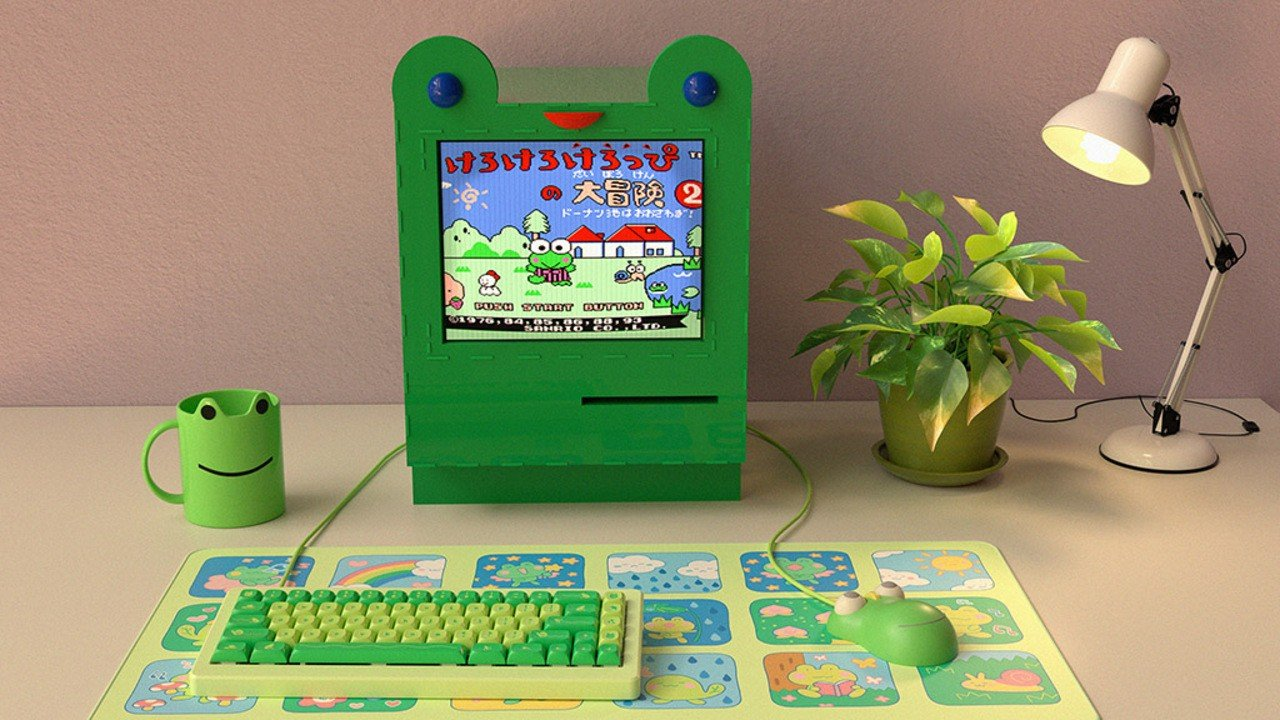 Random: Forget Froggy Chair, It's All About Froggy Computer And Froggy Keyboard