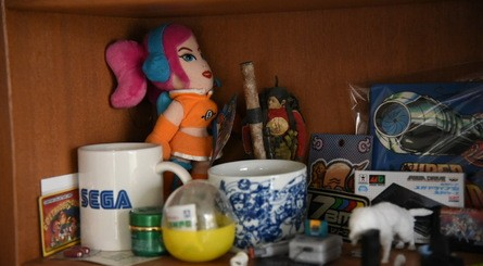 17-BIT's office is packed with awesome gaming memorabilia which neatly acknowledges Kazdal's love of both Nintendo and Sega
