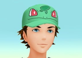 Bulbasaur Face Cap