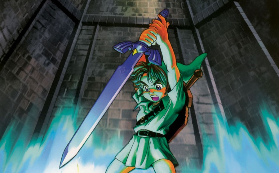 Ocarina of Time official art