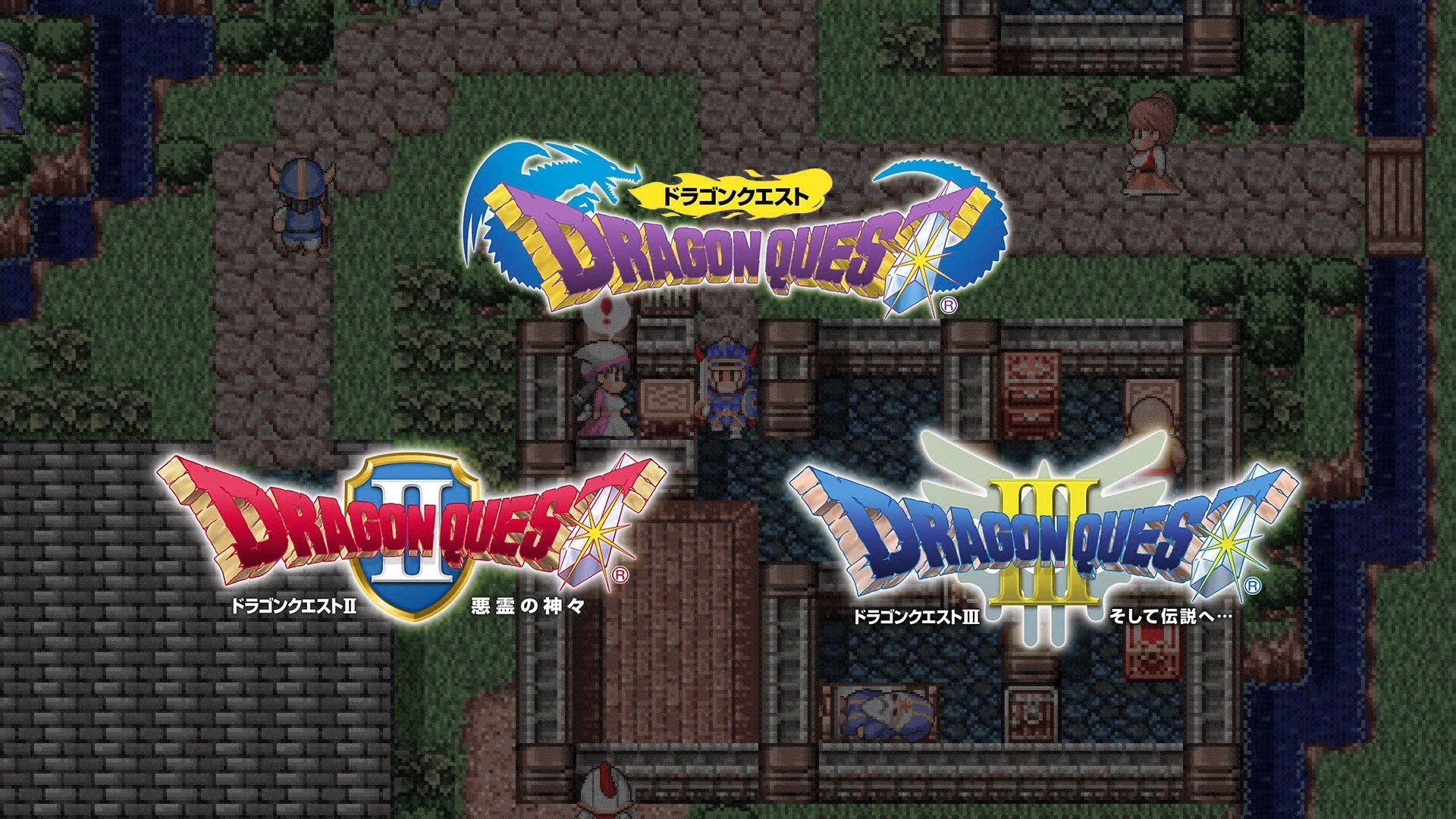Japanese Releases Of Dragon Quest I, II And III On Switch