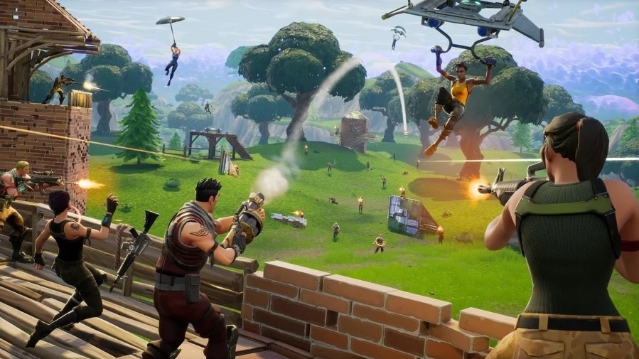 Switch Fortnite Double Helix Bundle bundles launches October 5