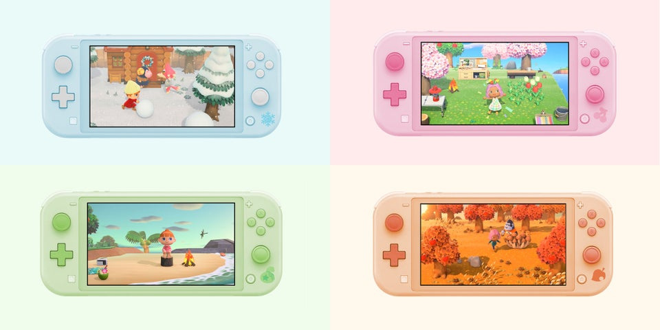 Fans Keep Designing Animal Crossing Switch Lites And Now We Need
