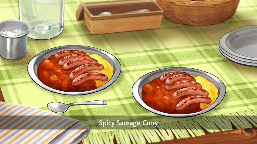 Spicy Sausage Curry