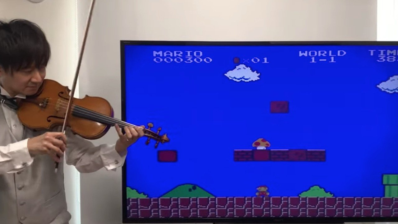 Random: Classic Nintendo Games Sound Even Cooler When Played Live On Violin