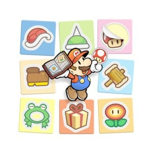 Mario celebrating as only he knows how