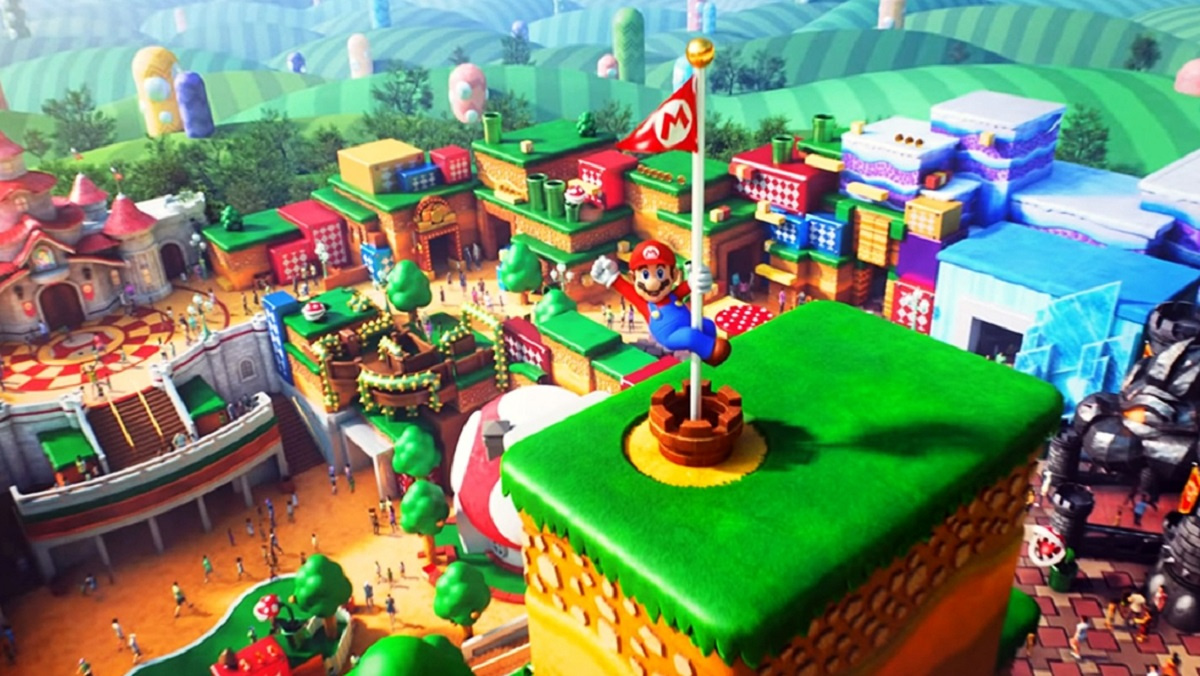 For The First Time, A Super Nintendo World Promo Image Has Teased A Non-Mario Franchise