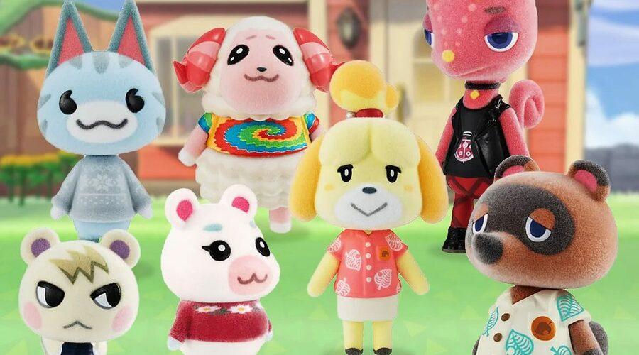 Animal Crossing Mini Figures