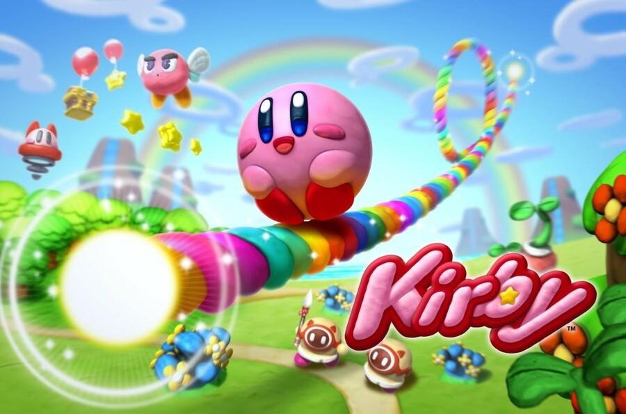 Kirby and the Rainbow Curse Art