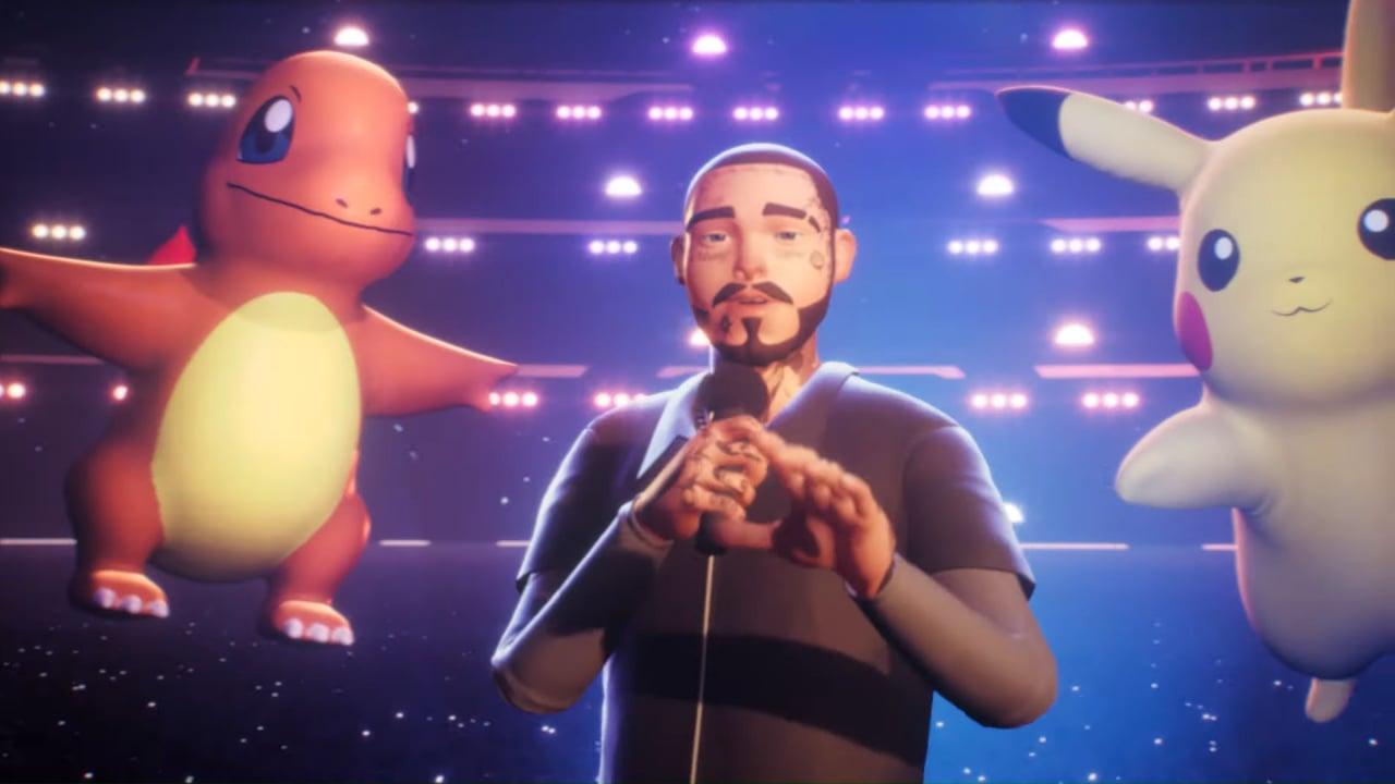 Video: Watch Post Malone's Virtual Concert Celebrating 25 Years Of Pokémon